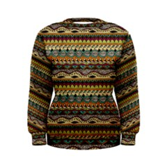 Aztec Pattern Women s Sweatshirt