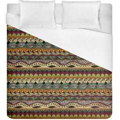 Aztec Pattern Duvet Cover (king Size) by BangZart