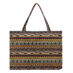 Aztec Pattern Medium Tote Bag by BangZart