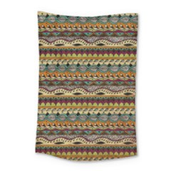 Aztec Pattern Small Tapestry by BangZart