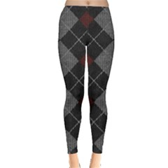 Wool Texture With Great Pattern Leggings