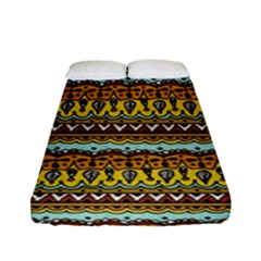 Bohemian Fabric Pattern Fitted Sheet (full/ Double Size) by BangZart