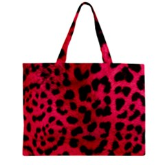 Leopard Skin Mini Tote Bag by BangZart