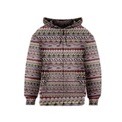 Aztec Pattern Patterns Kids  Zipper Hoodie by BangZart