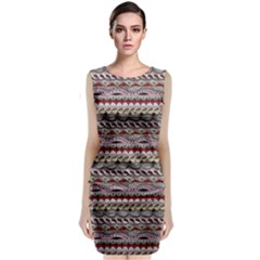 Aztec Pattern Patterns Classic Sleeveless Midi Dress