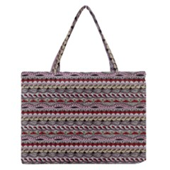 Aztec Pattern Patterns Medium Zipper Tote Bag by BangZart