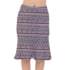 Aztec Pattern Patterns Mermaid Skirt by BangZart
