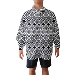 Aztec Design  Pattern Wind Breaker (kids) by BangZart
