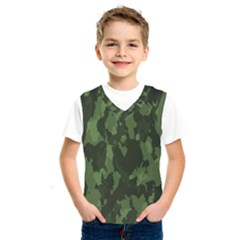 Camouflage Green Army Texture Kids  Sportswear by BangZart