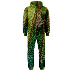 Chameleon Skin Texture Hooded Jumpsuit (men)  by BangZart