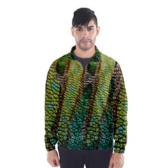 Chameleon Skin Texture Wind Breaker (men) by BangZart
