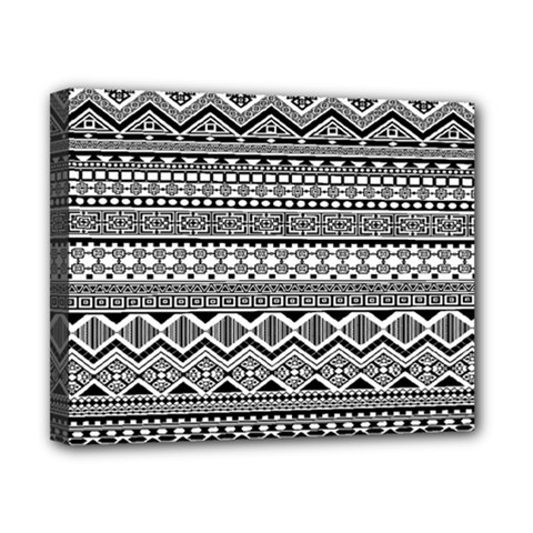 Aztec Pattern Design Canvas 10  X 8  by BangZart