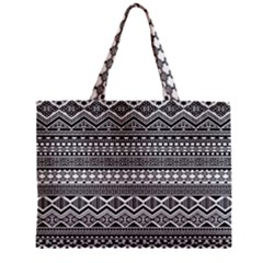 Aztec Pattern Design Zipper Mini Tote Bag by BangZart