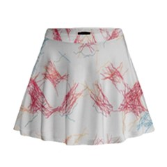 Doodles                        Mini Flare Skirt by LalyLauraFLM