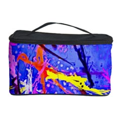 Paint Splashes                       Cosmetic Storage Case by LalyLauraFLM