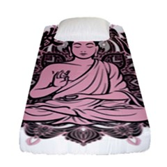 Ornate Buddha Fitted Sheet (single Size) by Valentinaart