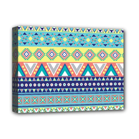Tribal Print Deluxe Canvas 16  X 12   by BangZart