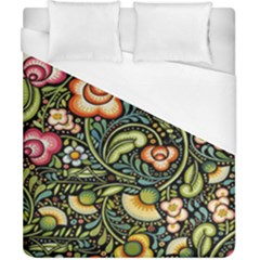 Bohemia Floral Pattern Duvet Cover (california King Size) by BangZart