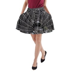 Spider Web Wallpaper 14 A Line Pocket Skirt by BangZart
