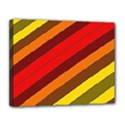 Abstract Bright Stripes Canvas 14  x 11  View1