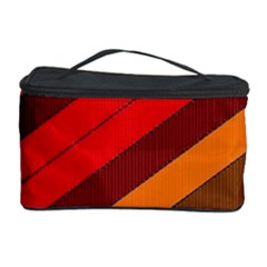 Abstract Bright Stripes Cosmetic Storage Case by BangZart