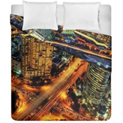 Hdri City Duvet Cover Double Side (california King Size) by BangZart