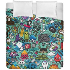 Comics Duvet Cover Double Side (california King Size) by BangZart