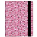 Abstract Pink Squares Samsung Galaxy Tab 8.9  P7300 Flip Case View2