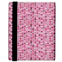 Abstract Pink Squares Samsung Galaxy Tab 8.9  P7300 Flip Case View3