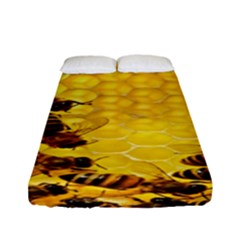 Sweden Honey Fitted Sheet (full/ Double Size) by BangZart