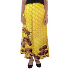 Sweden Honey Flared Maxi Skirt