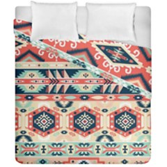Aztec Pattern Copy Duvet Cover Double Side (california King Size) by BangZart