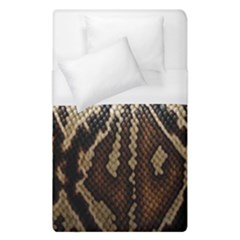 Snake Skin O Lay Duvet Cover (single Size) by BangZart