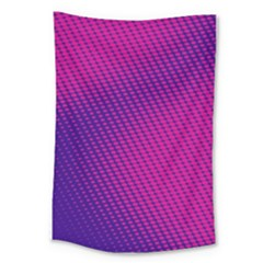 Purple Pink Dots Large Tapestry by BangZart