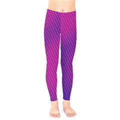 Purple Pink Dots Kids  Leggings