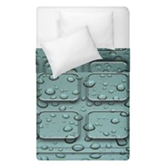 Water Drop Duvet Cover Double Side (single Size) by BangZart