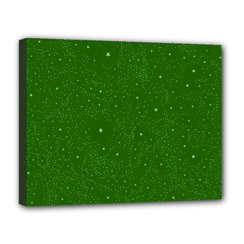 Awesome Allover Stars 01d Canvas 14  X 11  by MoreColorsinLife