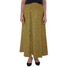 Awesome Allover Stars 01c Flared Maxi Skirt