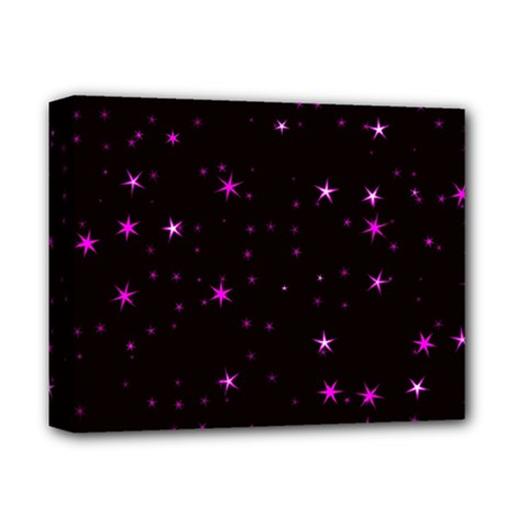 Awesome Allover Stars 02d Deluxe Canvas 14  X 11  by MoreColorsinLife