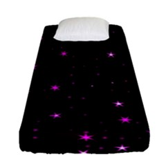 Awesome Allover Stars 02d Fitted Sheet (single Size)
