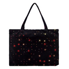 Awesome Allover Stars 02b Medium Tote Bag by MoreColorsinLife