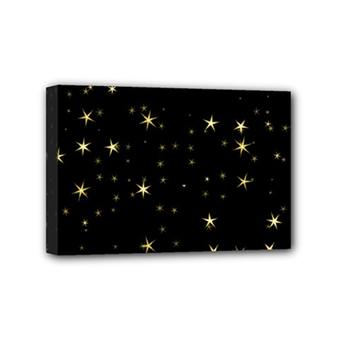 Awesome Allover Stars 02a Mini Canvas 6  X 4  by MoreColorsinLife