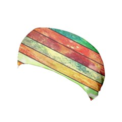 Stripes Color Oil Yoga Headband by BangZart