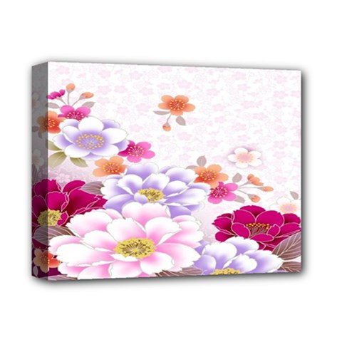 Sweet Flowers Deluxe Canvas 14  X 11  by BangZart