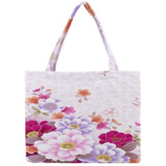 Sweet Flowers Mini Tote Bag by BangZart
