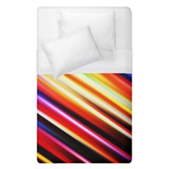 Funky Color Lines Duvet Cover (single Size)