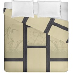 Tatami   Bamboo Duvet Cover Double Side (king Size) by RespawnLARPer