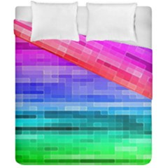 Pretty Color Duvet Cover Double Side (california King Size) by BangZart