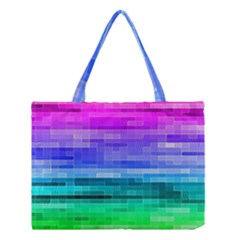 Pretty Color Medium Tote Bag by BangZart