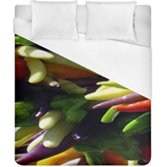 Bright Peppers Duvet Cover (california King Size) by BangZart
